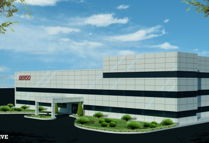 Construction Project of Phase 2 of Denso Design Center