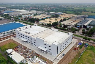 Update construction progress – Meiko Quang Minh electronics assembling factory project in July 2020