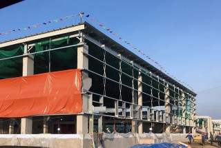 Update construction progress – Phase 4 factory construction project of Yokowo Vietnam Co., Ltd in July 2020