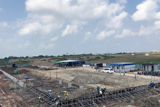 Update construction progress – Yukioh factory project in September 2019