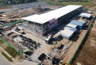 Update construction progress – Yukioh factory project in Nov 2019